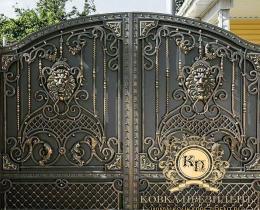 Кованые ворота в Воронеже №118