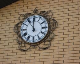 Кованые часы в Воронеже №58