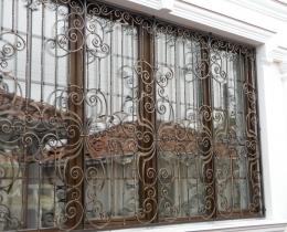Кованые оконные решетки в Воронеже №80