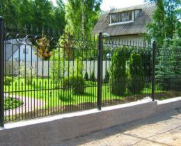 Кованые заборы в Воронеже №23