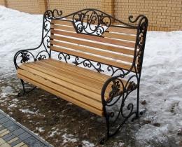 Кованые скамейки в Воронеже №83