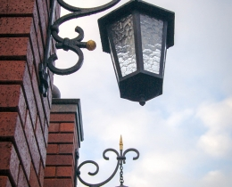 Кованые фонари в Воронеже №49