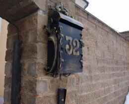 Кованые таблички, вывески, почтовые ящики №55