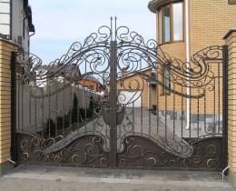Кованые ворота в Воронеже №30