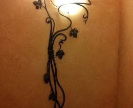 Кованые люстры, фонари, светильники, подсвечники №47