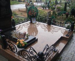 Кованые ритуальные изделия в Воронеже №12