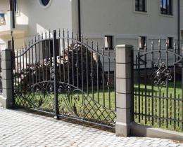 Кованые ворота в Воронеже №67