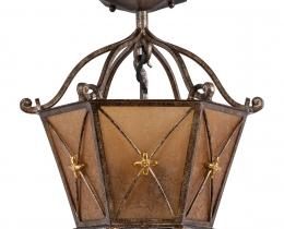 Кованые люстры, фонари, светильники, подсвечники №50