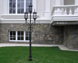 Кованые люстры, фонари, светильники, подсвечники №49