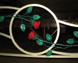 Кованые цветы в Воронеже №47