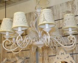 Кованые люстры, фонари, светильники, подсвечники №51