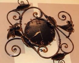 Кованые часы в Воронеже №62