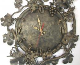 Кованые часы в Воронеже №84