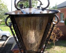 Кованые люстры, фонари, светильники, подсвечники №52