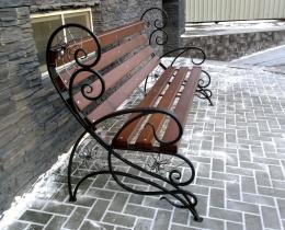 Кованые скамейки в Воронеже №115