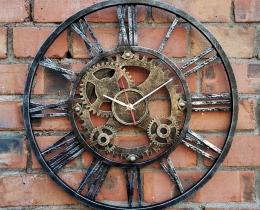 Кованые часы в Воронеже №41