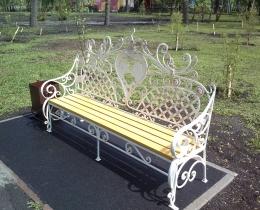 Кованые скамейки в Воронеже №84