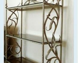 Кованые этажерки, стеллажи, консоли №10