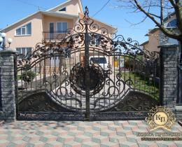 Кованые ворота в Воронеже №27