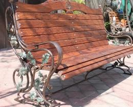 Кованые скамейки в Воронеже №120
