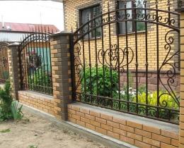 Кованые заборы в Воронеже №122