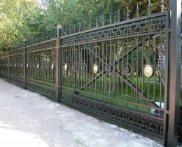 Кованые заборы в Воронеже №123