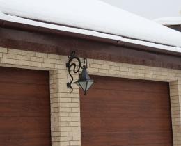 Кованые люстры, фонари, светильники, подсвечники №56