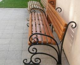 Кованые скамейки в Воронеже №121