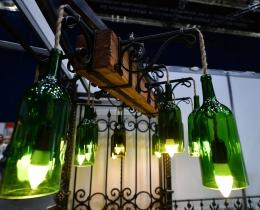 Кованые люстры, фонари, светильники, подсвечники №57