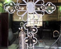 Кованые ритуальные изделия в Воронеже №35