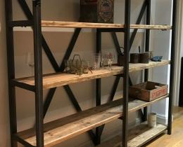 Кованые этажерки, стеллажи, консоли №141