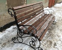 Кованые скамейки в Воронеже №122