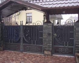 Кованые ворота в Воронеже №54