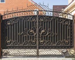 Кованые ворота в Воронеже №184