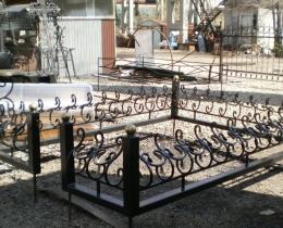 Кованые ритуальные изделия в Воронеже №52