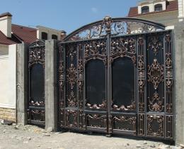 Кованые ворота в Воронеже №56