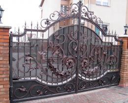 Кованые ворота в Воронеже №26