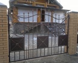 Кованые заборы в Воронеже №139
