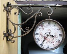 Кованые часы в Воронеже №18
