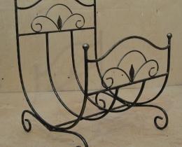 Кованые каминные наборы, дровницы, решетки №98