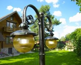 Кованые люстры, фонари, светильники, подсвечники №59