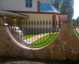 Кованые заборы в Воронеже №142