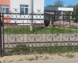 Кованые заборы в Воронеже №144