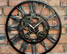Кованые часы в Воронеже №69