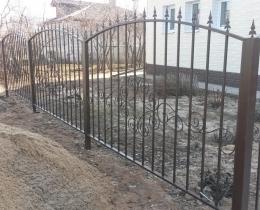 Кованые заборы в Воронеже №147
