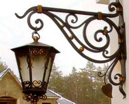 Кованые фонари в Воронеже №2