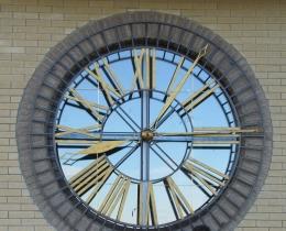 Кованые часы в Воронеже №70