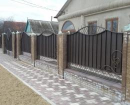 Кованые заборы в Воронеже №149