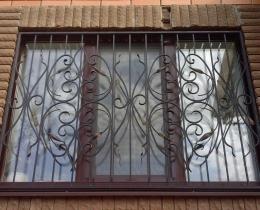 Кованые оконные решетки в Воронеже №92