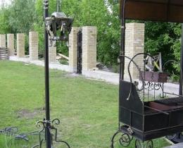 Кованые люстры, фонари, светильники, подсвечники №22